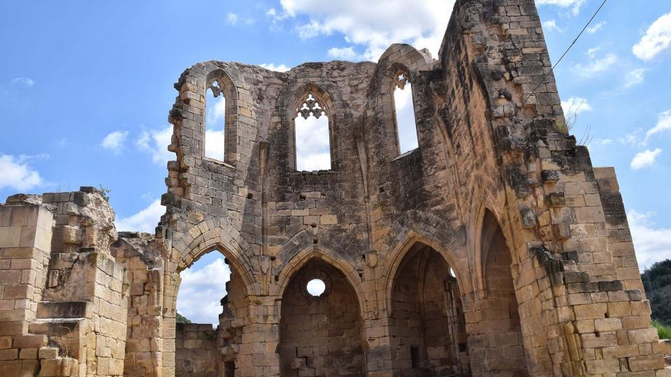 11.08.2018 monestir de Santa Maria de Vallsanta  Guimerà -  Ramon Sunyer