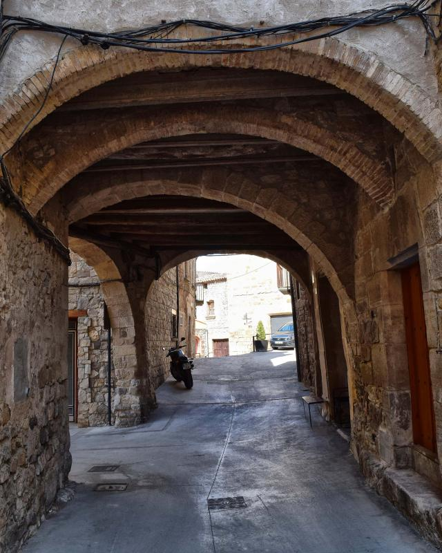 old Town  Portals i carrers - Author Ramon Sunyer (2018)