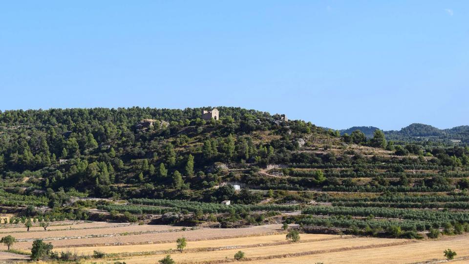 10.08.2019 Ermita de Sant Joan de Maldanell  Maldà -  Ramon Sunyer
