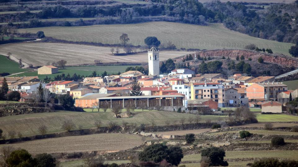 29.01.2017 Vista general  Sant Martí Sesgueioles -  Ramon Sunyer
