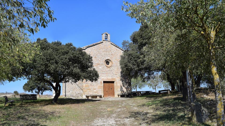 Chapelle de Sant Valentí de Vilallonga - Auteur Ramon Sunyer (2017)