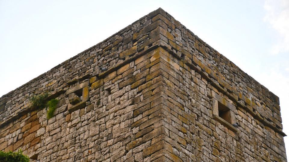 30.05.2020 detall torre  La Sala de Comalats -  Ramon Sunyer
