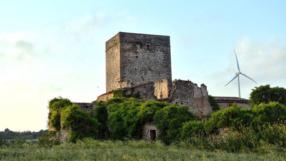 30.05.2020 torre del castell  La Sala de Comalats -  Ramon Sunyer
