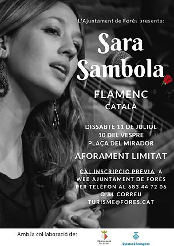 Concert a la Fresca 'Sara Sambola'
