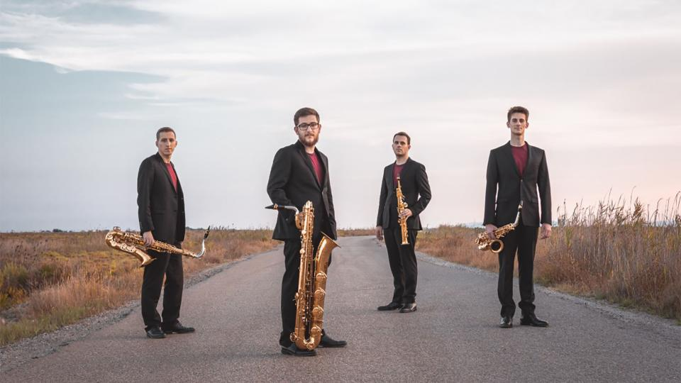 Música a la fresca a la Brufaganya 'Kebyart Ensemble'