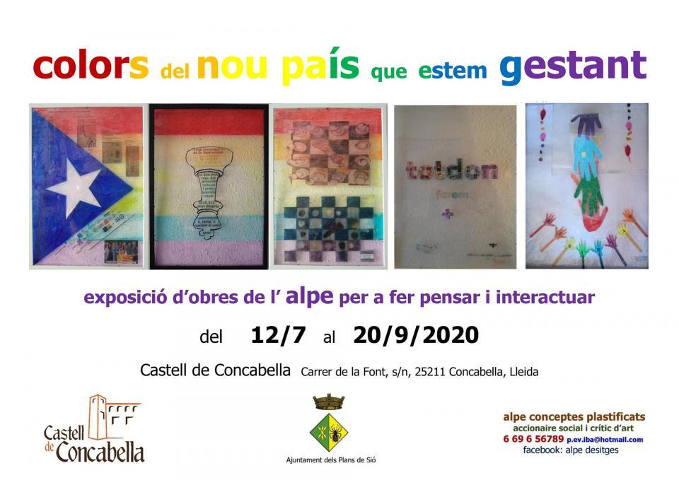 Exposició 'Colors del nou país que estem gestant'