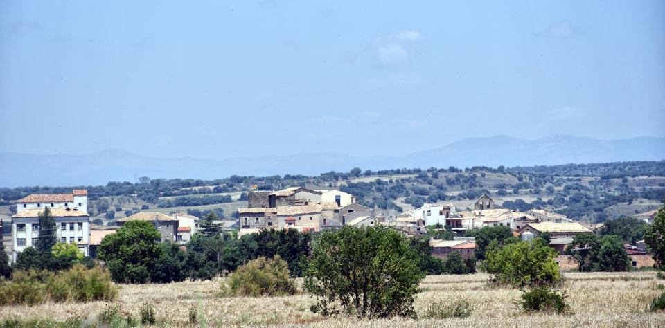 21.06.2020 Vista del poble  Concabella -  Ramon Sunyer