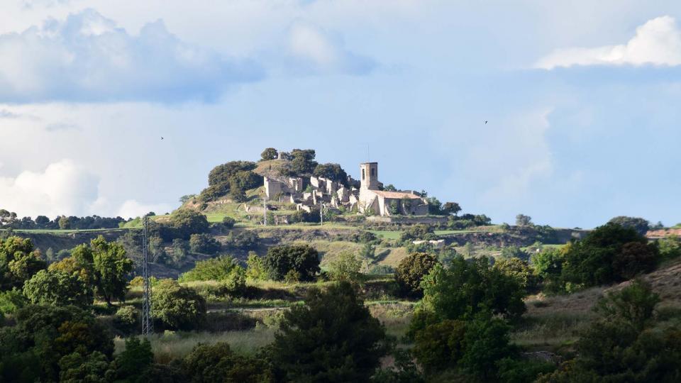 18.05.2019 vista del poble  Montlleó -  Ramon Sunyer