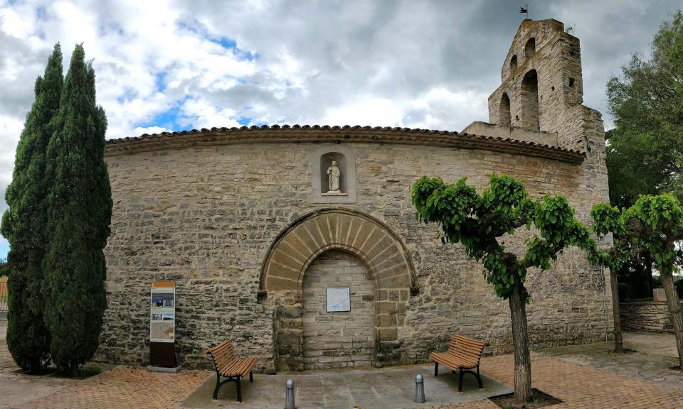 18.05.2019 Església de sant Jaume  Pallerols -  Ramon Sunyer