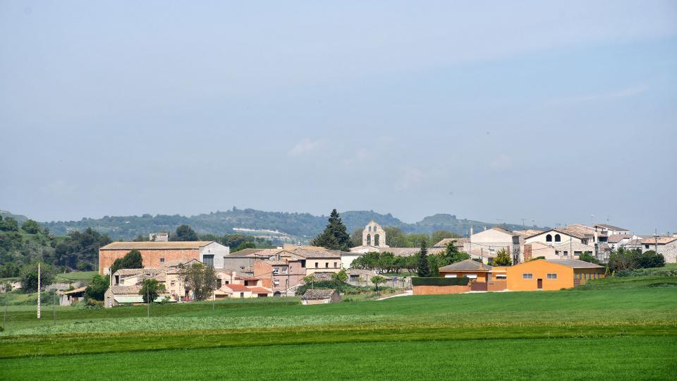 06.05.2020 vista del poble  Pallerols -  Ramon Sunyer
