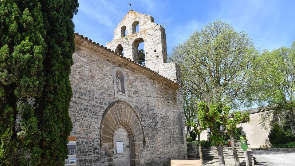 06.05.2020 Església de sant Jaume  Pallerols -  Ramon Sunyer