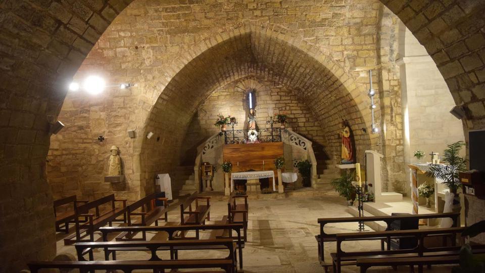 Église de Sant Miquel - Auteur Ramon Sunyer (2018)
