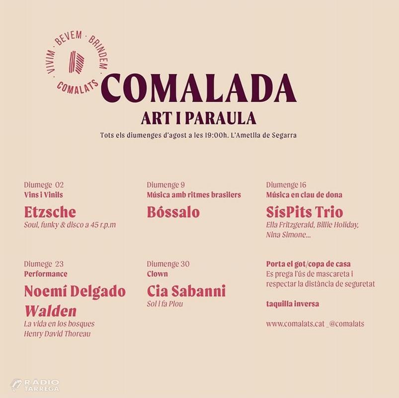 cartell Comalada Art i Paraula 2020