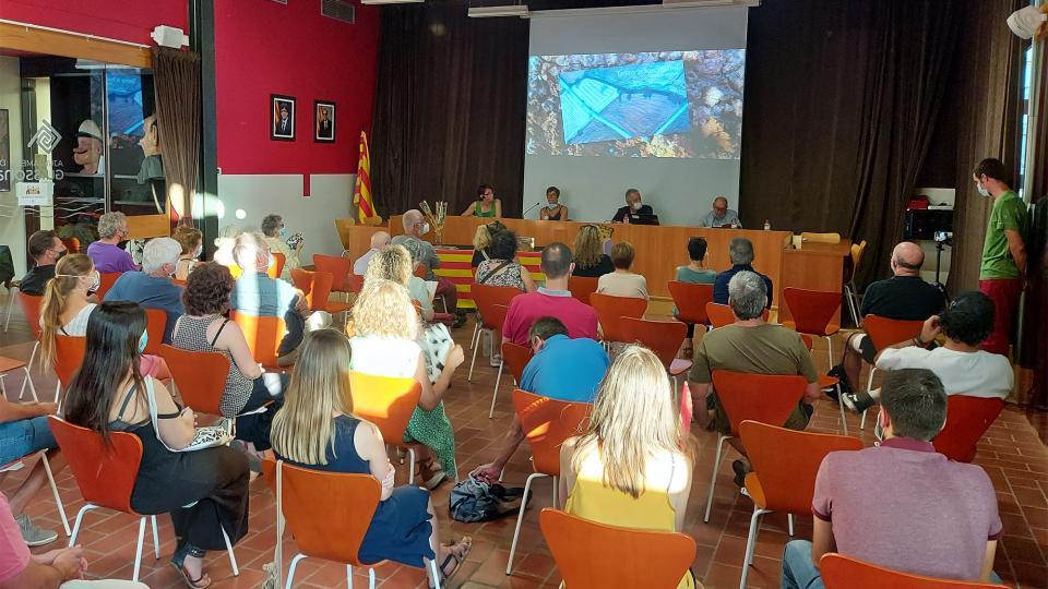 Acte de presentació de 'Terra a les mans' a Guissona -