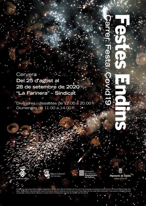 cartell Exposició 'Festes endins'