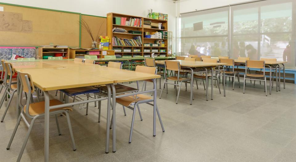Les quarantenes a les escoles ja són de deu dies