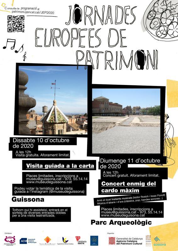 Jornades Europees del Patrimoni 2020 Guissona -