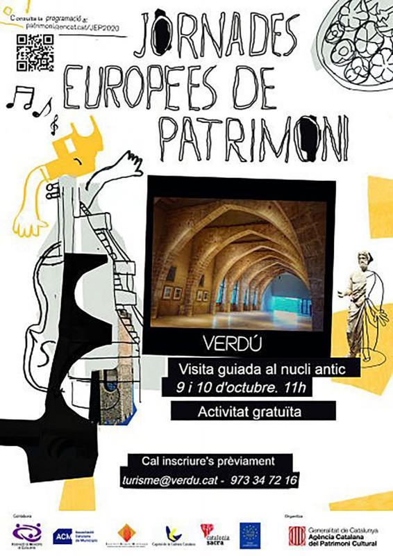 Jornades Europees del Patrimoni 2020 Verdú -