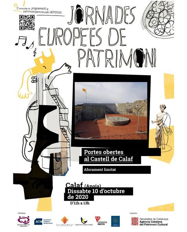 Jornades Europees del Patrimoni 2020 Calaf -