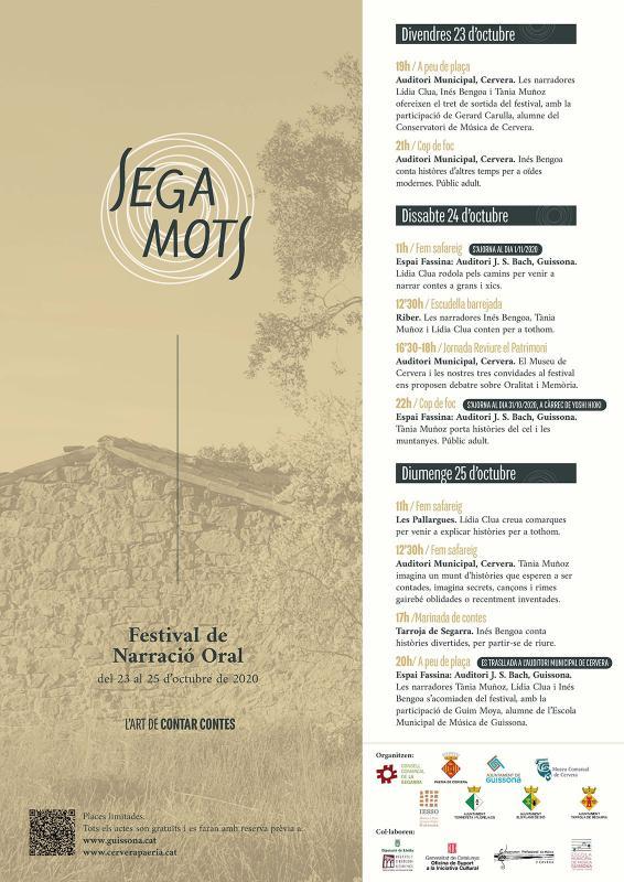 cartell Festival SegaMots 2020