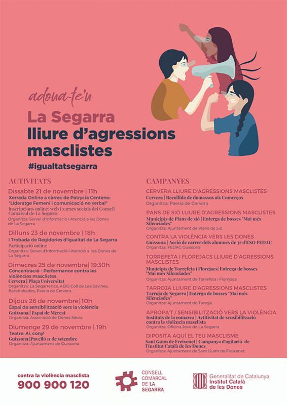 25N Dia Internacional per a l'Eliminació de la Violència envers les Dones -