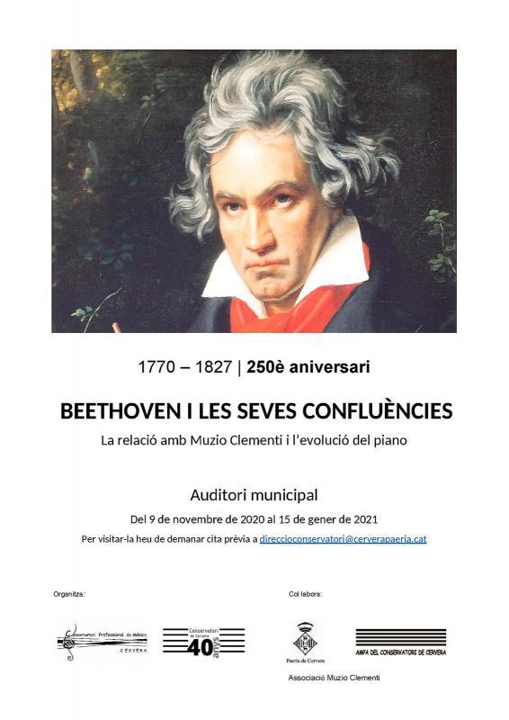 Exposició 'Beethoven i les seves confluències'
