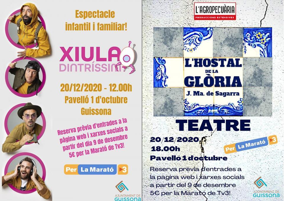 Activitats Marató 2020 a Guissona