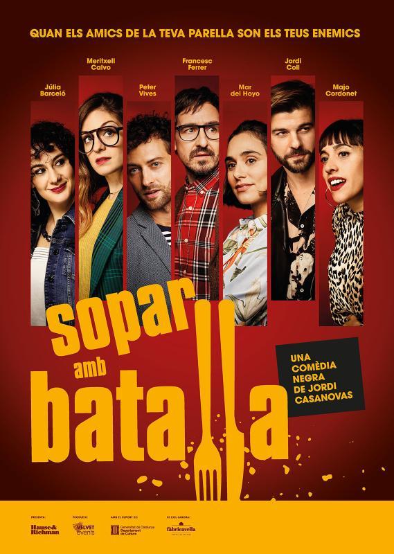 cartell Teatre 'Sopar amb batalla'