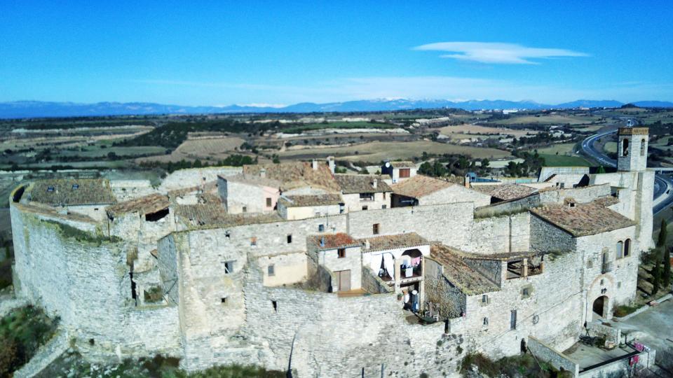 26.12.2020 vista aèria  Montfalcó Murallat -  Ramon Sunyer