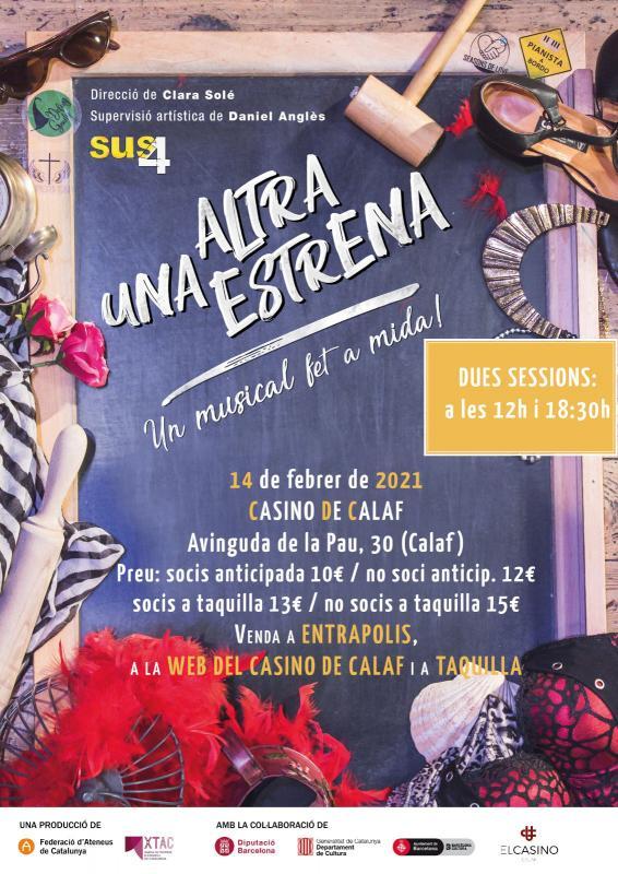 cartell Musical 'Una altra estrena'