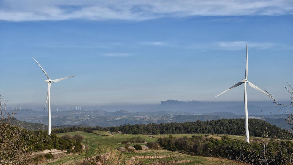 20.02.2021 Montserrat des de la torre de Vilalta  La Tallada -  Ramon Sunyer