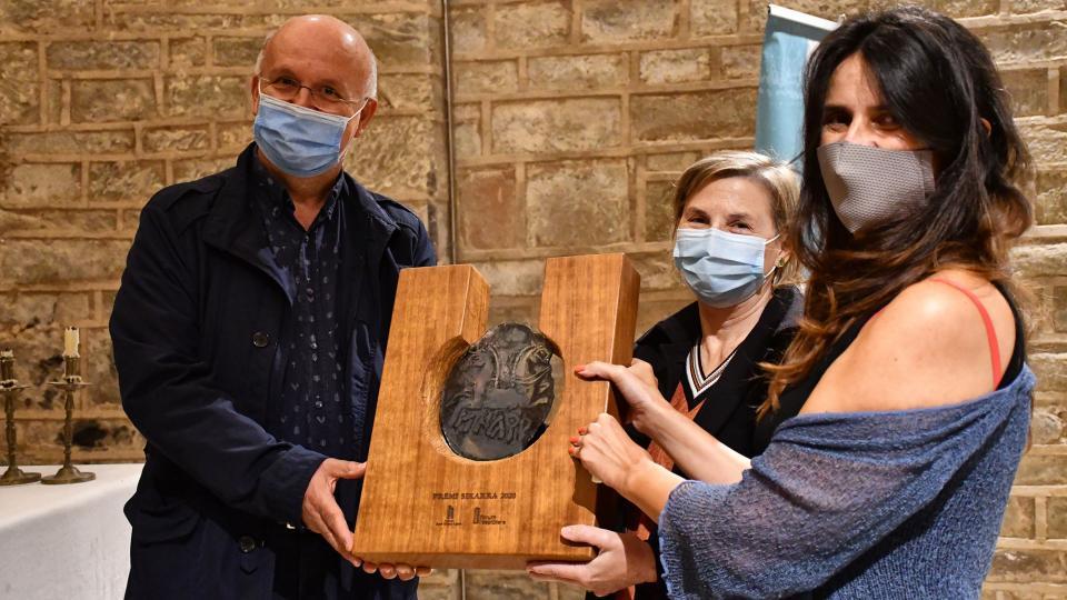 10.10.2020 Entrega del el 9è premi Sikarra a l'APACT  Cellers -  Ramon Sunyer