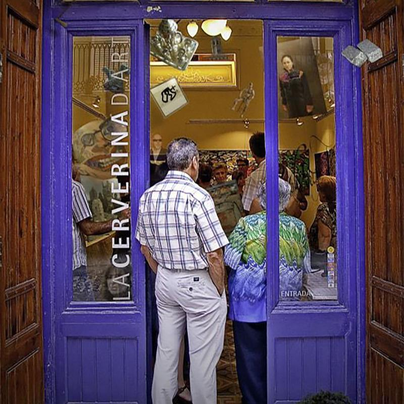 La galeria La Cerverina d'Art, premi Sikarra del 2021 - Cervera