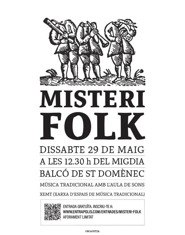 cartell Misteri Folk 2021