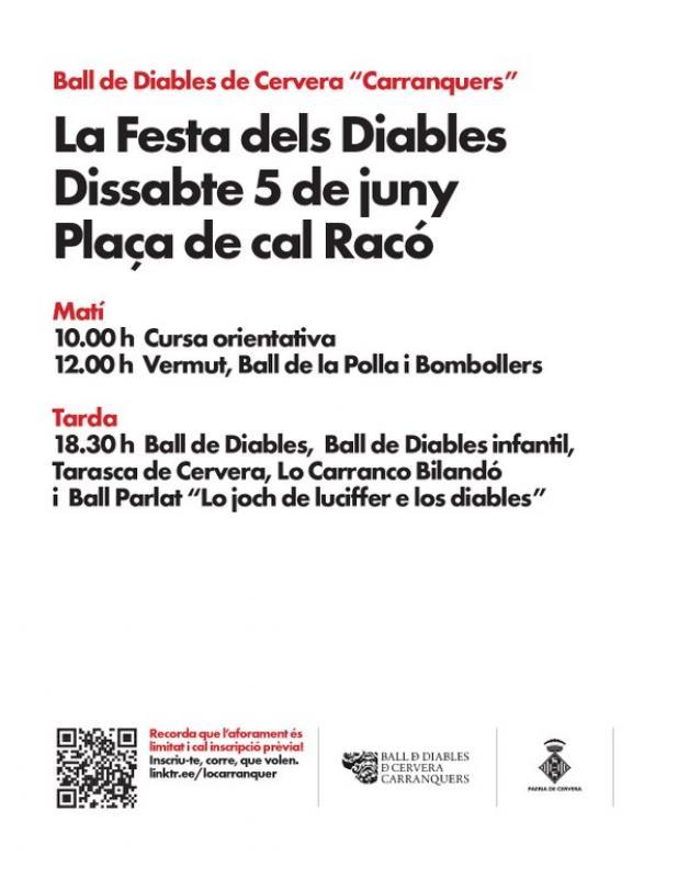 cartell Festa dels Diables Carranquers 2021
