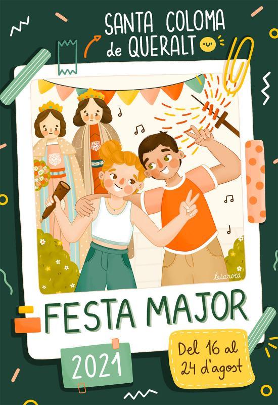 cartell Festa Major de Santa Coloma de Queralt 2021
