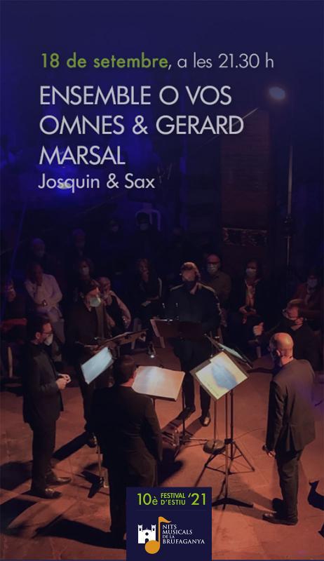Concert Ensemble O Vos Omnes i Gerard Marsal (Nits Musicals de la Brufaganya)