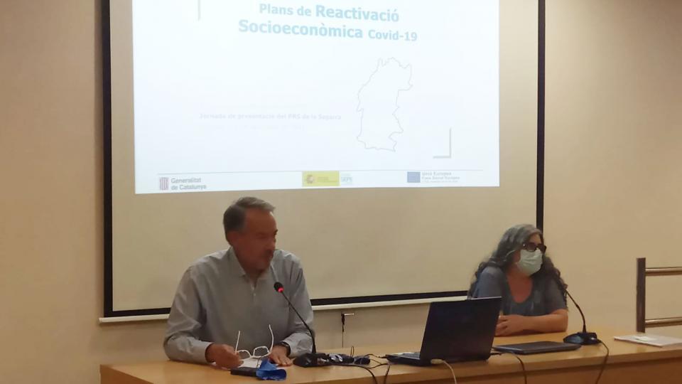 Es presenta el 'Pla de Reactivació Socioeconòmica post-Covid a la Segarra'