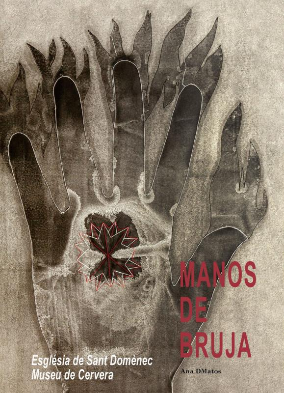 cartell Exposició 'Manos de Bruja'