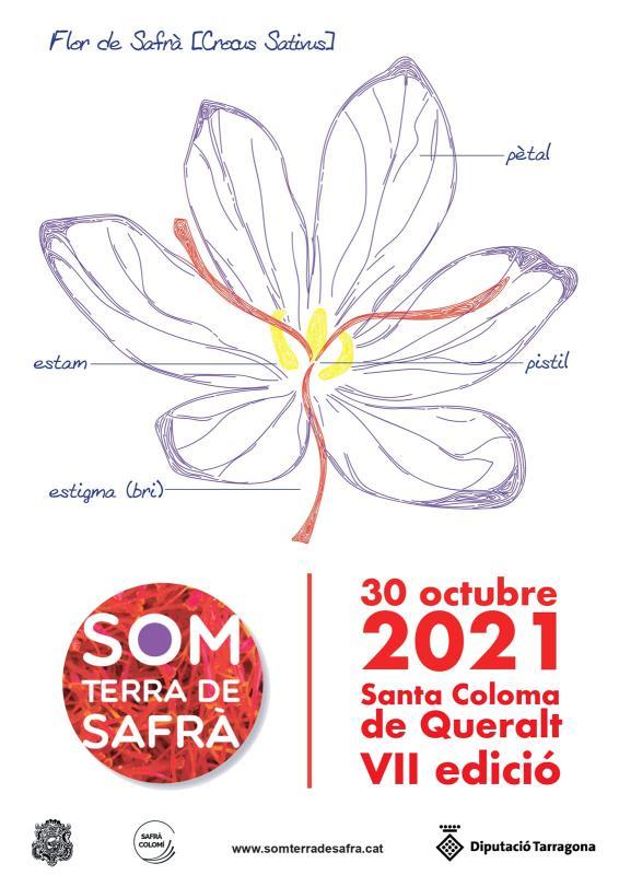 cartell Som Terra de Safrà 2021