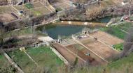 Sanaüja: Els horts  Josep Maria Santesmasses Palou