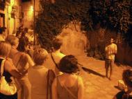 Guissona: Les visites nocturnes són guiades per David Castellana  Ajuntament de Guissona
