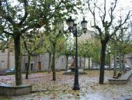 Sant Guim de Freixenet: Plaça de Sant Guim de Freixenet  Josep Maria Santesmasses Palou