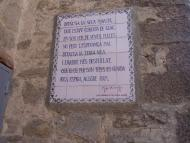 Vallfogona de Riucorb: Els versos de Vicens Garcia,