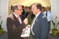 Josep Cosconera, a la dreta de la imatge