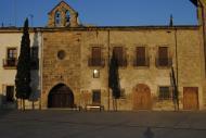 Plaça del Castell de Santa Coloma de Queralts