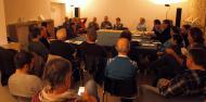 imatges de la reunió a Verdú