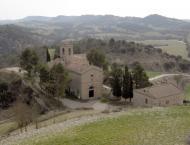 Calonge de Segarra: Església de Santa Fe  A. Casanoves