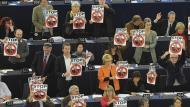 Eurodiputats contraris al fracking