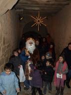 Florejacs: el Rei Melcior entrant al nucli antic de Florejacs  Jaume Moya
